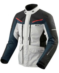 REV'IT Safari 3 Jacket Silver/Blue