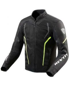 REV'IT GT-R Air 2 Jacket Black/Neon Yellow