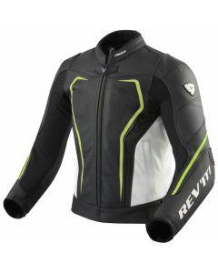 REV'IT Vertex GT Jacket Black/Neon Yellow