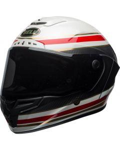 BELL Race Star Carbon Formula RSD Gloss/Matt White/Red