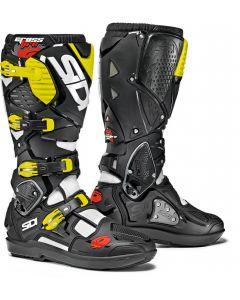 Sidi Crossfire 3 SRS White/Black/Yellow Fluo 115