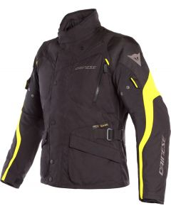 Dainese Tempest 2 D-Dry Jacket Black/Black/Fluo Yellow N49