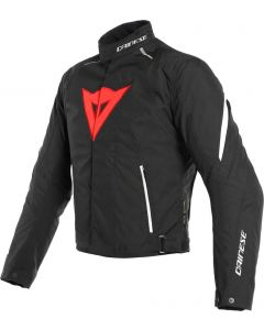 Dainese Laguna Seca 3 D-Dry Jacket Black/Lava Red/White A77
