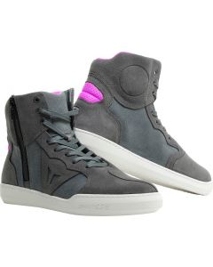 Dainese Metropolis Lady Shoes Antracite Fucsia S18