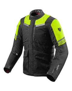 REV'IT Neptune 2 GTX Jacket Black/Neon Yellow