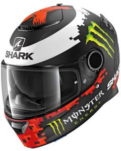 Shark Spartan 1.2 Lorenzo Matt Monster Black/Red/Green KRG