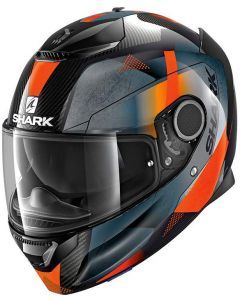 Shark Spartan Carbon 1.2 Kitari Carbon/Orange/Anthracite DOA