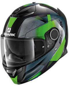 Shark Spartan Carbon 1.2 Kitari Carbon/Green/Antracite DGA