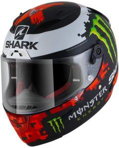 Shark Race-R PRO Lorenzo Monster Matt 2018 Black/Red/Green KRG