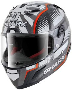 Shark Race-R PRO PC Zarco Malaysian GP Carbon/Red/Anthracite DRA
