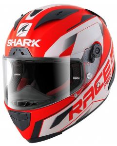 Shark Race-R PRO Sauer Matt Red/Black/White RKW