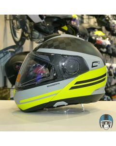 Schuberth C4 Pro Carbon Tempest Yellow 711