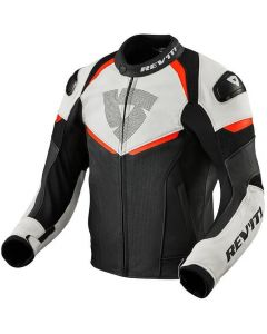REV'IT Convex Jacket Black/Neon Red