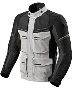 REV'IT Outback 3 Jacket Silver/Green