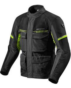 REV'IT Outback 3 Jacket Black/Neon Yellow