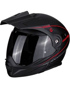 Scorpion ADX-1 Horizon Matt Black/Neon Red
