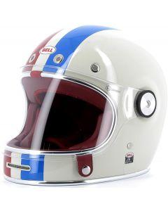 BELL Bullitt DLX Command Gloss Vintage White/Red/Blue
