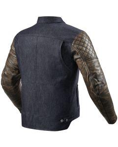 REV'IT Crossroads Jacket Blue/Brown