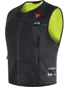 Dainese Smart Jacket Black/Fluo Yellow 620