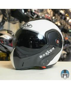 ROOF RO9 Boxxer Face Metal/Pearl White