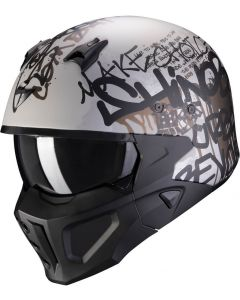 Scorpion Covert-X Wall Matt Silver/Black