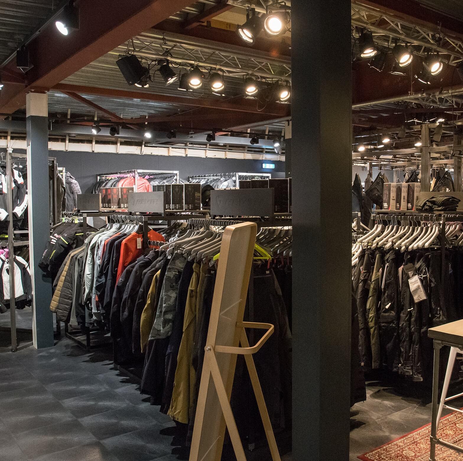 Motorcycle clothing Amsterdam