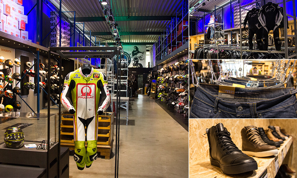 Amsterdam Motorcycle Gear Store